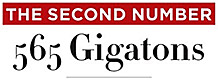 The Second Number: 565 Gigatons.
